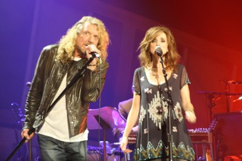 Americana Awards Robert Plant and Patty Griffin 350x233 Americana Music Festival now online