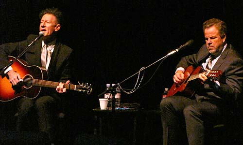 Lovett and Keen Review: Lyle Lovett and Robert Earl Keen in Galveston