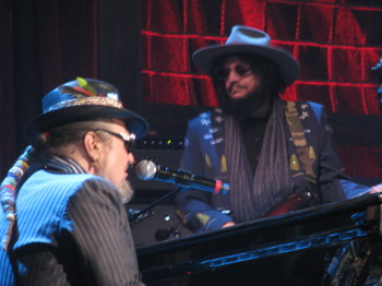 Dr. John with Don Was