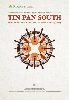tin pan 2014 243x350 Tin Pan South set for March 25 29 in Nashville