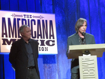 Ken Paulson and Jackson Browne
