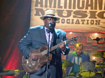 Taj Mahal performed at the 2014 Americana Music Association awards show at the Ryman.