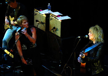 Shawn Colvin and Lucinda Williams