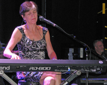 Marcia Ball may have been the most collaborative artists on board. When she wasn't playing her own sets or hosting Pianorama, she was sitting in with others. And when the ship docked in St. John...