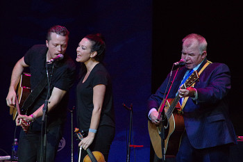 Jason Isbell, Amanda Shires and John Prine