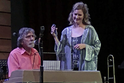 Spooner Oldham and Amy Black