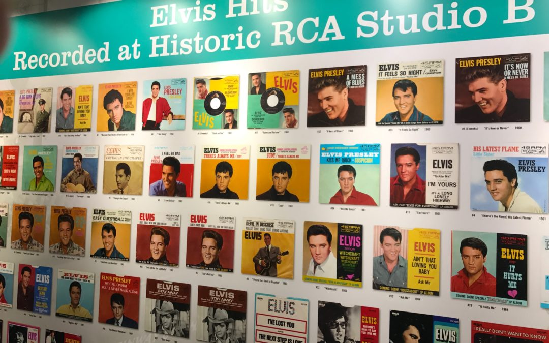Remembering Elvis Presley at RCA Studio B